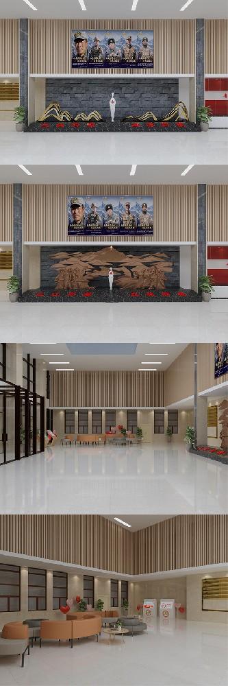 青海省血液中心服务大厅设计